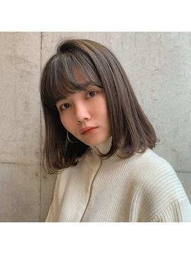 地毛風natural brown/Signal二子玉川 倉橋実咲