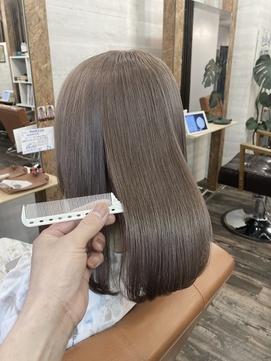 【Lilly渋谷】#ベージュ #ウルトワ #髪質改善