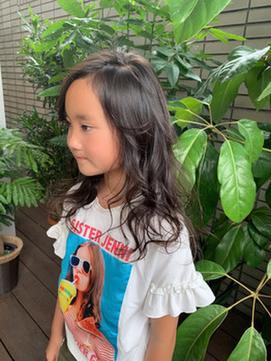【hair salon W】小学生ロング