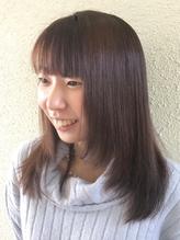 YRP野比駅1分◆髪に柔らかさを与えるトリートメント付☆まっすぐすぎない自然なストレートヘアに☆