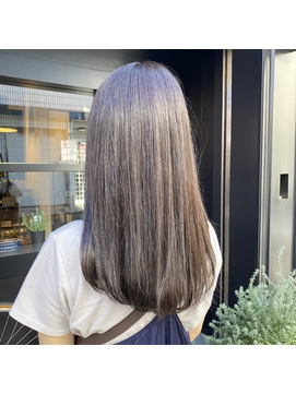 イルミナミントグレージュ×髪質改善トリートメント