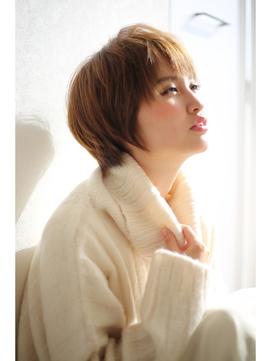 [OCEAN Hair&Life]大人可愛い☆ナチュラルグレージュショート☆