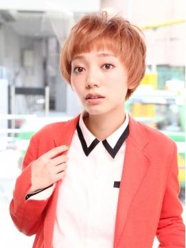 ナチュラルボブショートxモテカジュアル☆【新小岩】