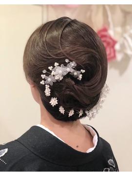 TAKAKOstyle☆上品ツヤ和髪(結婚式の留袖にもOK)