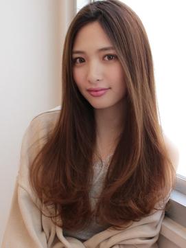 《Agu hair》大人可愛いまろやかストレート