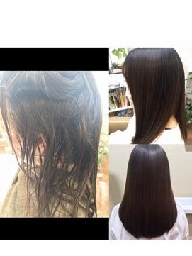 【コトノハ】髪質改善 1%サロン限定ダメージ削減縮毛矯正