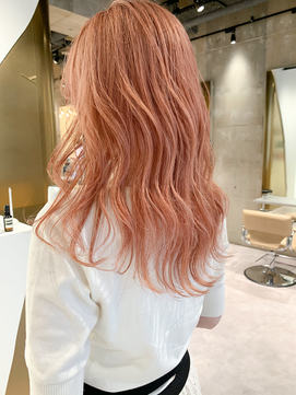 ピンクオレンジベージュ/コーラルベージュ