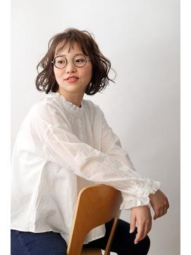 ラフカールボブ【川越/パーマ/ヘッドスパ/イルミナカラー/ボブ】