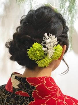 卒業式ヘアセット&袴