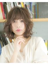 【Lond avenir本田奈穂美】トレンド ひし形シルエットのボブ.48