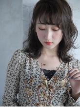 Belle BIANCA 外ハネセミディ×春色グレージュ by.竹内.42