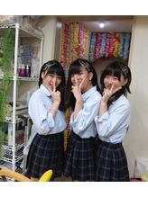 コーンロウ【ハート】 ¥4000.7