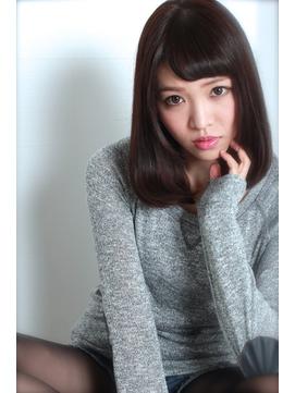 ガレリアエレガンテ稲沢☆暗髪×艶ミディアムby西脇