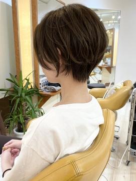 【morio成増/米村】大人可愛いレイヤーショート/イメチェン