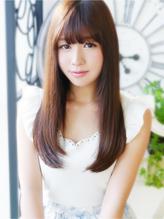 【ヘアジュレドゥ古居】 美髪カワイイ清純ストレートロング☆ 清純.60