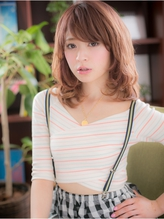 *+COVER HAIR+*…゛うるツヤ゛ウェーブで…☆ガーリーセミディa パーティ.21