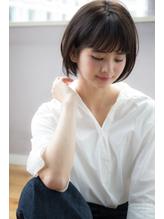 黒髪でも柔らか小顔ショートボブ☆首もとスッキリ【國武さゆり】 クラシカル.25