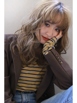【Blanc/広島】ネオウルフ_抜け感ウェーブ_大人ガーリー
