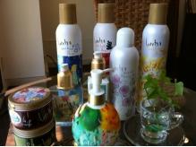 お気に入りのロレッタシリーズ。アロマローズの香りが◎
