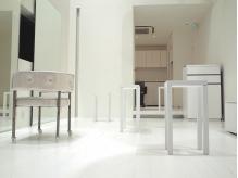 □white…月曜OPEN・マンツーマン制☆ファッションのアクセサリーとなるhairを真っ白な空間で創る。