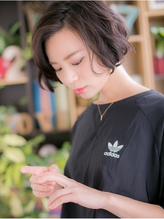 *+COVER HAIR+*…黒髪がso cool !ラフボブa【浦和】 上品.45