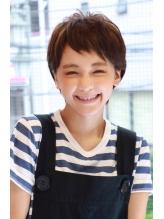 【+~ing  deux】シンプルショート★五島夕夏 .16