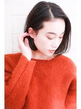 [OCEAN Hair&Life]前下がり☆耳かけ☆大人ボブ☆毛先パーマ☆.39