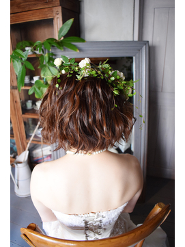 花嫁ボブスタイル【BELL桜新町/用賀】