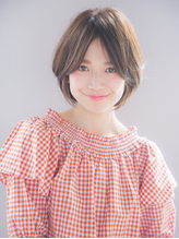 2018おすすめフェアリーショートボブ大人小顔【國武さゆり】.58