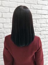さらさらの黒髪はナチュラルストレートで髪質改善☆.55