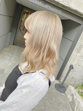 暖色系カラー☆ペールカラー☆ホワイトベージュ