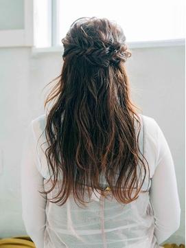 大人かわいい♪ドレスヘア♪前髪