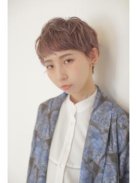 【Lee天神橋】Wカラー×デザインカラー×ペールラベンダー