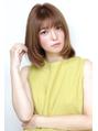 Soleil菊地/梨花ネイビーフレンチボブマニッシュドレスヘア美髪