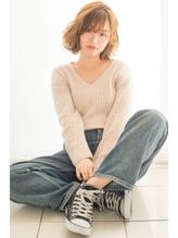 フワみボブ~ホワっとかわいいフレアシルエット【CASA浜松】 ママ.49
