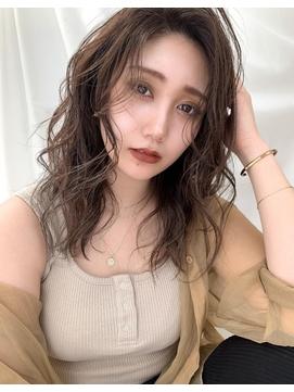 【豊塚】イエベ秋/デジタルパーマ/グラマラスカール/ベージュ