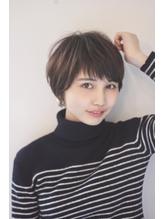【HONEY表参道】束感ショートバング×ふわマッシュ(SHIHO) ボーイッシュ.34