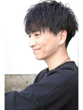 ★ローハ★刈り上げマッシュソフトツイスト韓国マッシュ