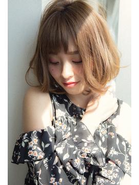 【Euphoria銀座本店】甘辛MIXが織りなす奇跡のボブ☆長谷川