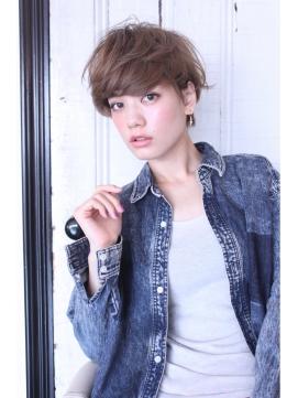 LAUREN外国人風☆3D☆Short STYLE♪tel0112328045