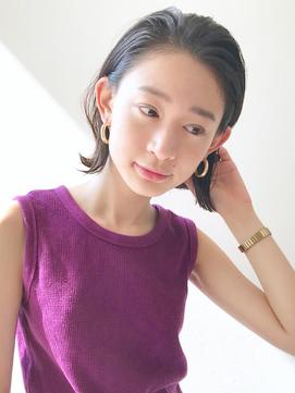 [K-two]小顔に見えるオールバックスタイル[天王寺/阿倍野]