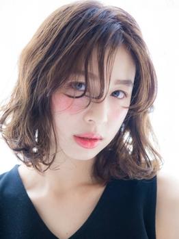 《平日限定カラー(リタッチ)+カット¥5000》オーガニック成分配合のカラーで髪に優しく艶やかな仕上がりに◎