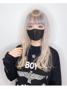 [GRAND LINE ]若宮 宣弘 ハイトーンカラー シルバーアッシュ