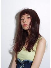 【MAULOA】春色ピンク×ルーズカール 春色.55