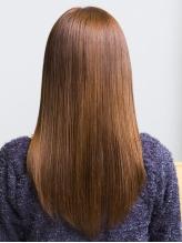 【カット+縮毛矯正+デザインサプリトリートメント¥15832→¥10580】ナチュラルなストレートヘアへ☆