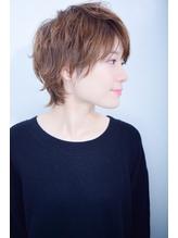 【morio池袋】大人かわいい秋冬人気モード小顔ウルフショート.59