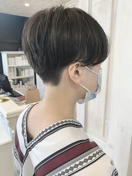 福山市美容室Caary ベリーショート 刈り上げハンサムショート