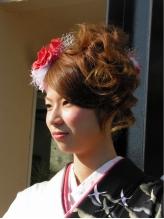 成人式スタイル 盛り髪.6