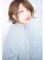 【morio池袋】大人かわいい斜めバング秋冬人気ショートボブ#