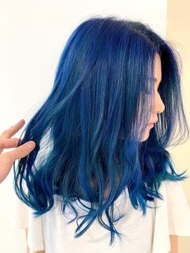 クレージーカラー★ブルー